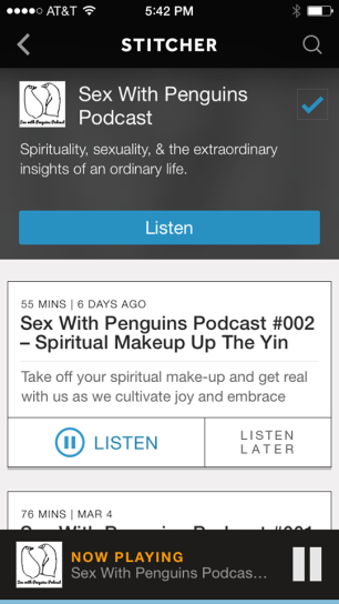 SWP on Stitcher